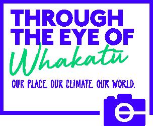 Through the Eye of Whakatū logo